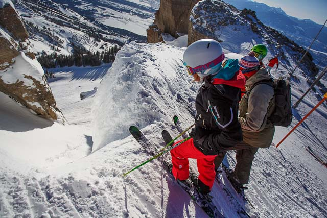 7 of the Scariest Runs in North America: - SnowBrains