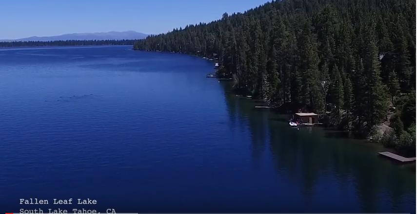 Fallen Lake at South Lake Tahoe