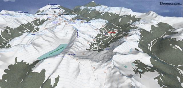 Rough Plan for Jumbo Ski Resort.
