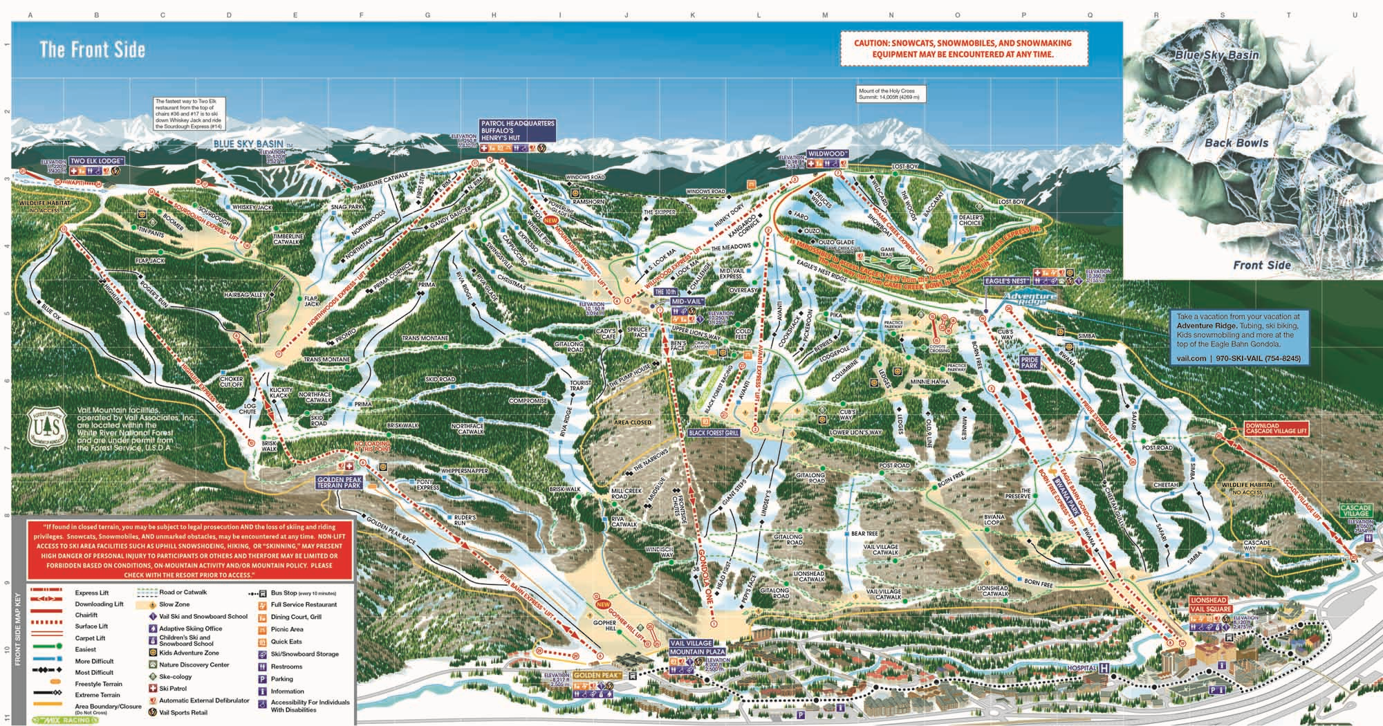 Conditions Report from Vail, CO: Nearly 500 Acres Now Open
