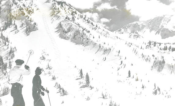 High Rustler at Alta, UT.