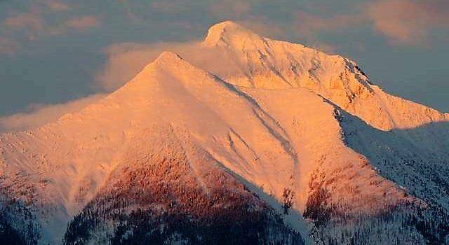 Mt. Stanton Glacier National Park