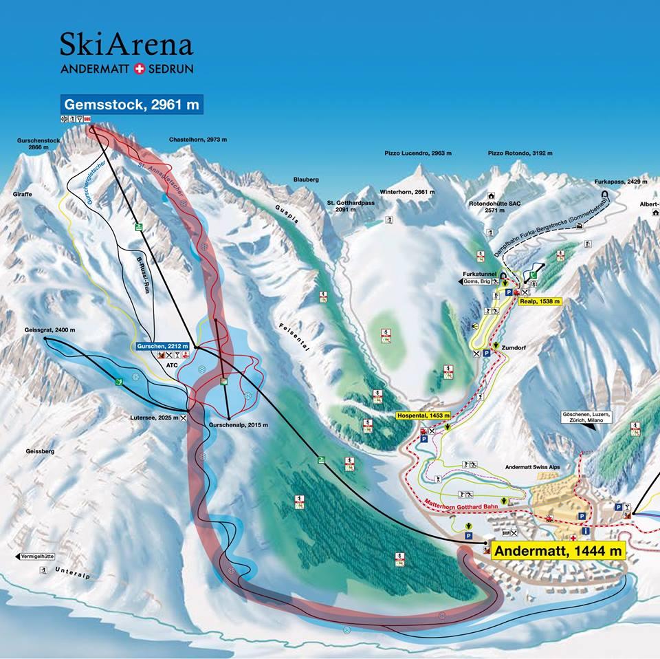 Top 6 Reasons to Freeride Switzerland at Engelberg and Andermatt