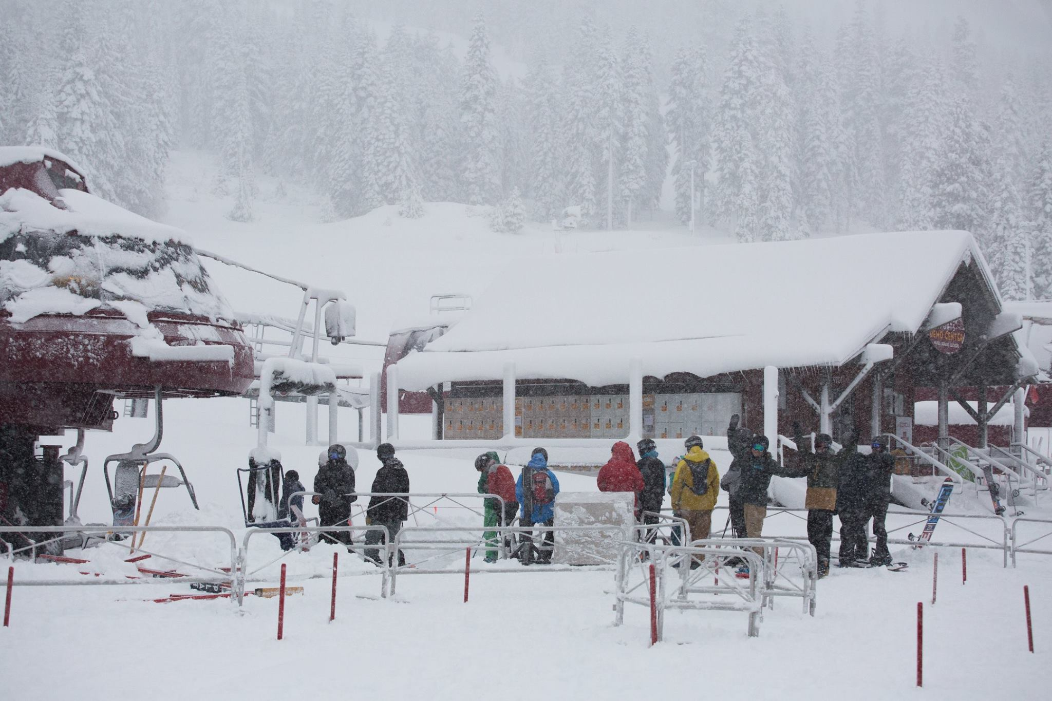 Northstar Ski Area this morning. Image: Northstar Facebook Page