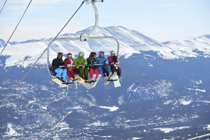 Vail Resorts is reporting that the six-place chairlifts at its ski areas are working well to ease crowding. The company will install three more six-place lifts in Colorado this summer, one each at Vail, Breckenridge and Keystone. pc; Lexi Christensen