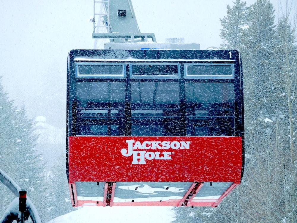Jackson Hole tram today. photo: snowbrains