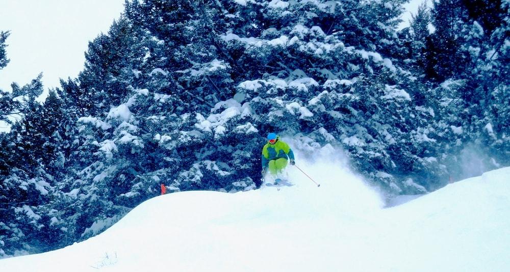 Jamie popping today. photo: snowbrains