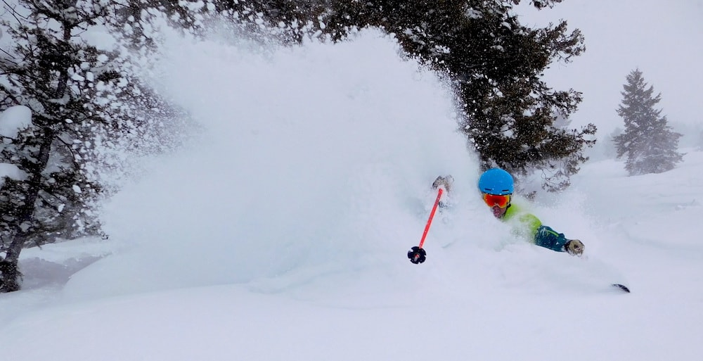 Jamie for the win. photo: snowbrains, today