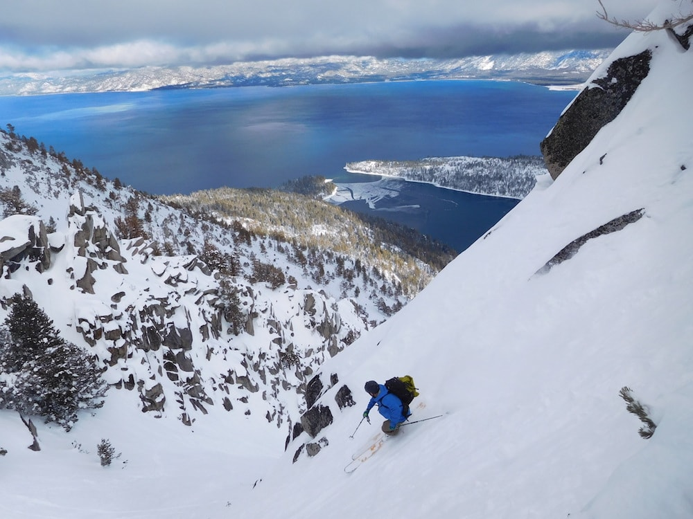 Matt Bansak dropping in today. photo: snowbrains
