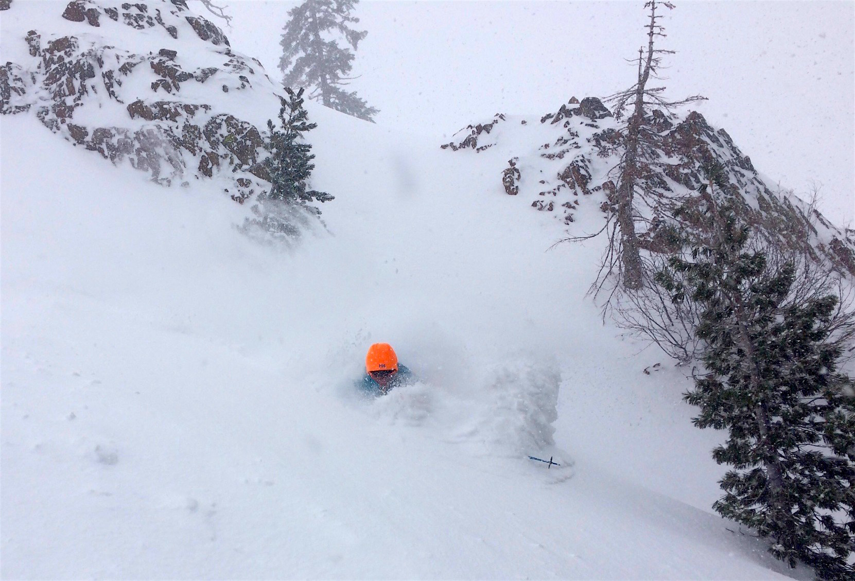 Miles in the deep today at Alpine. photo: alan ashbaugh