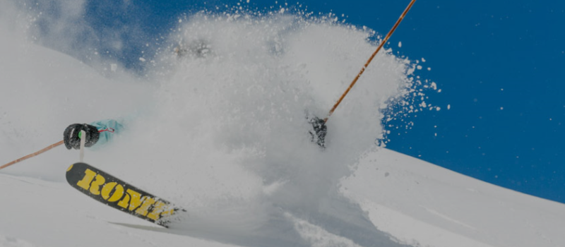 ROMP Skis during the white room test. pc; ROMP Skis.com