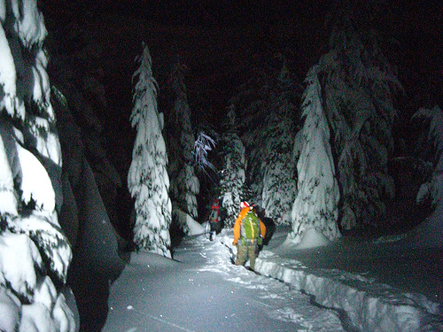 Search And Rescue Volunteer Injured By Avalanche During