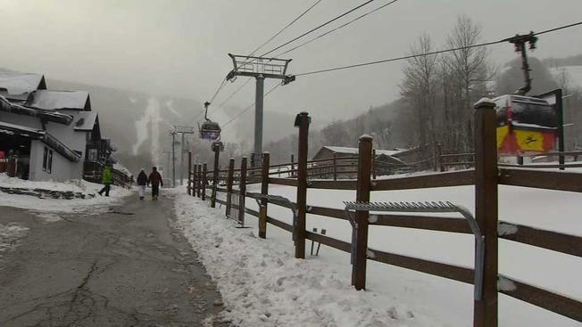 The gondola at Killington. Image: NECN