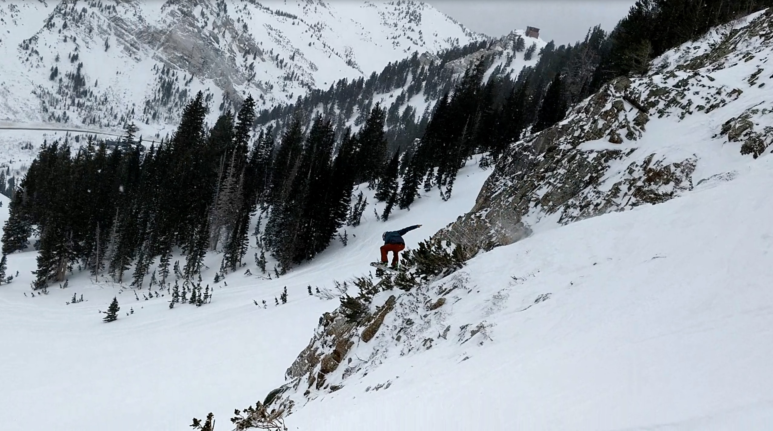 Dave Zook at the bottom of North Baldy PC:Jon Collet