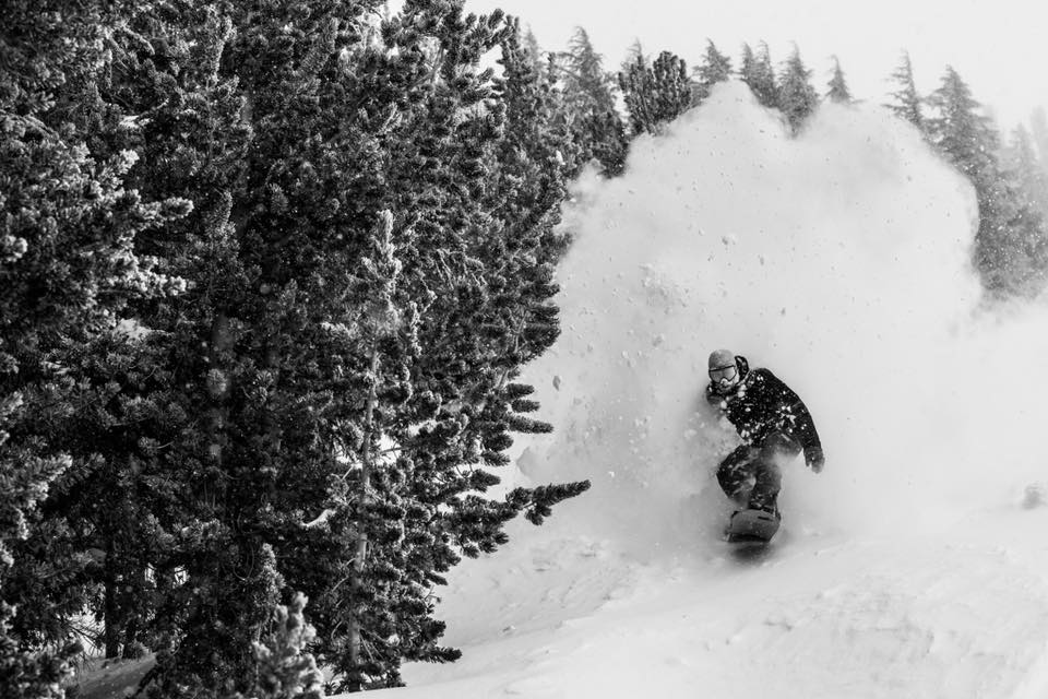 It was DEEP at Mammoth this weekend. Image: Mammoth Mountain Facebook Page
