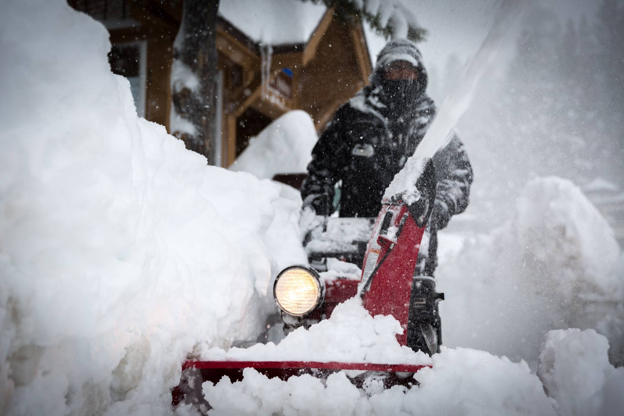 Digging out. Image: Squaw Valley Facebook Page