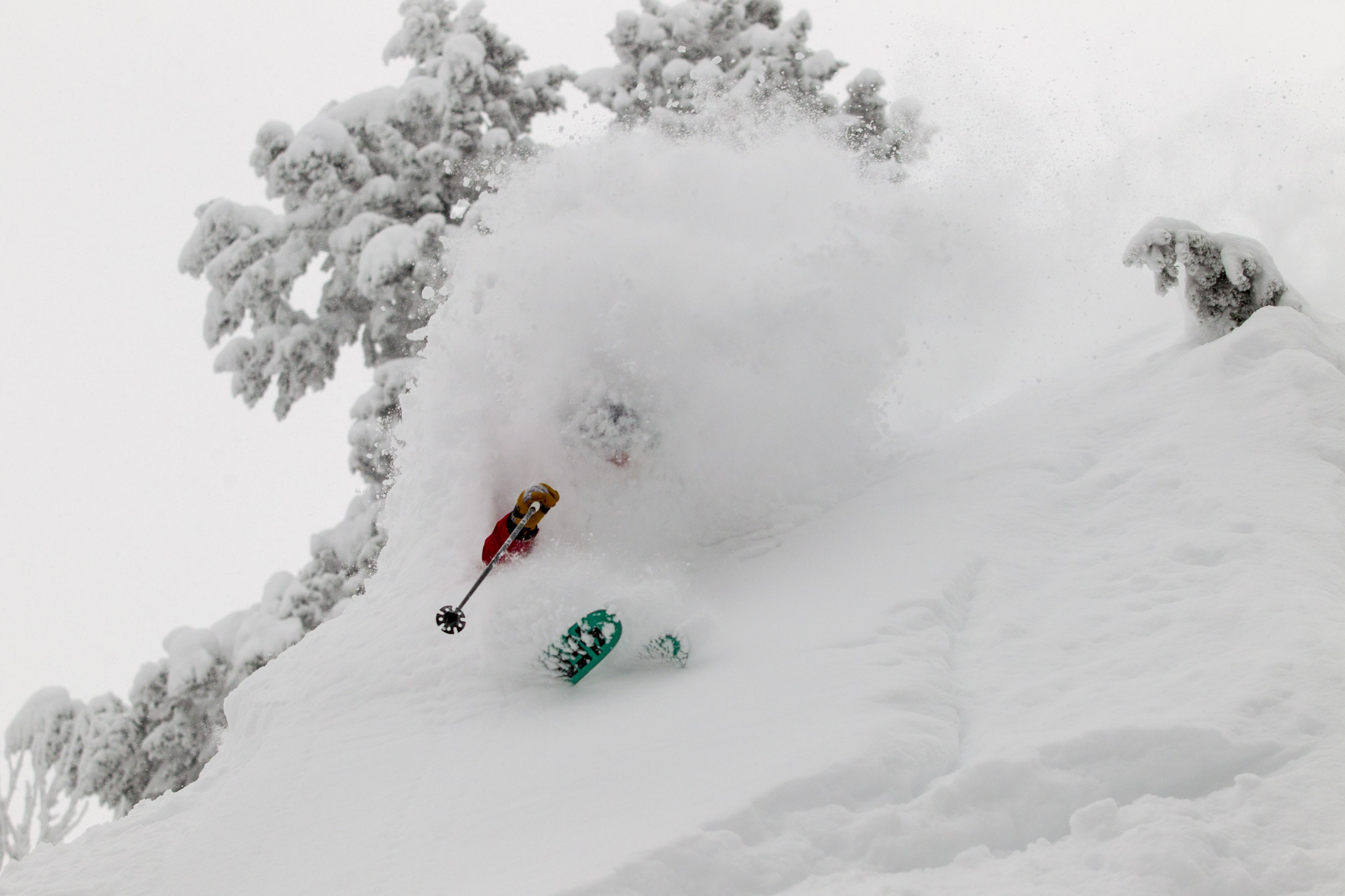 Grand Targhee is well noted for copious amounts of  deep powder. Credit: Grand Targhee Facebook page
