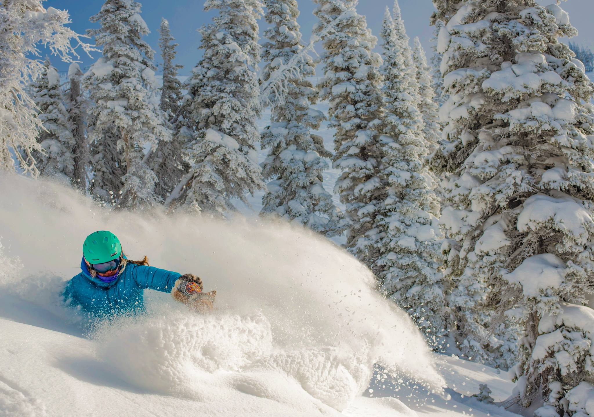 POW Skiing at Targhee earlier this winter. Image: Grand Targhee