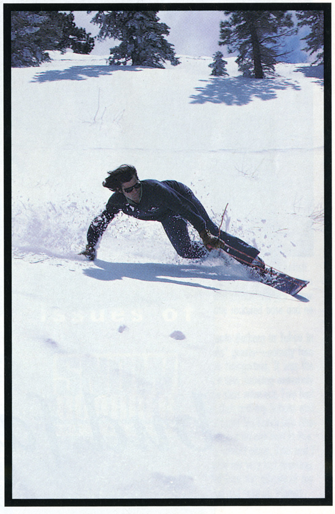 Jake Burton Carpenter getting his steeze on in 1977. Photo: James Cassimus