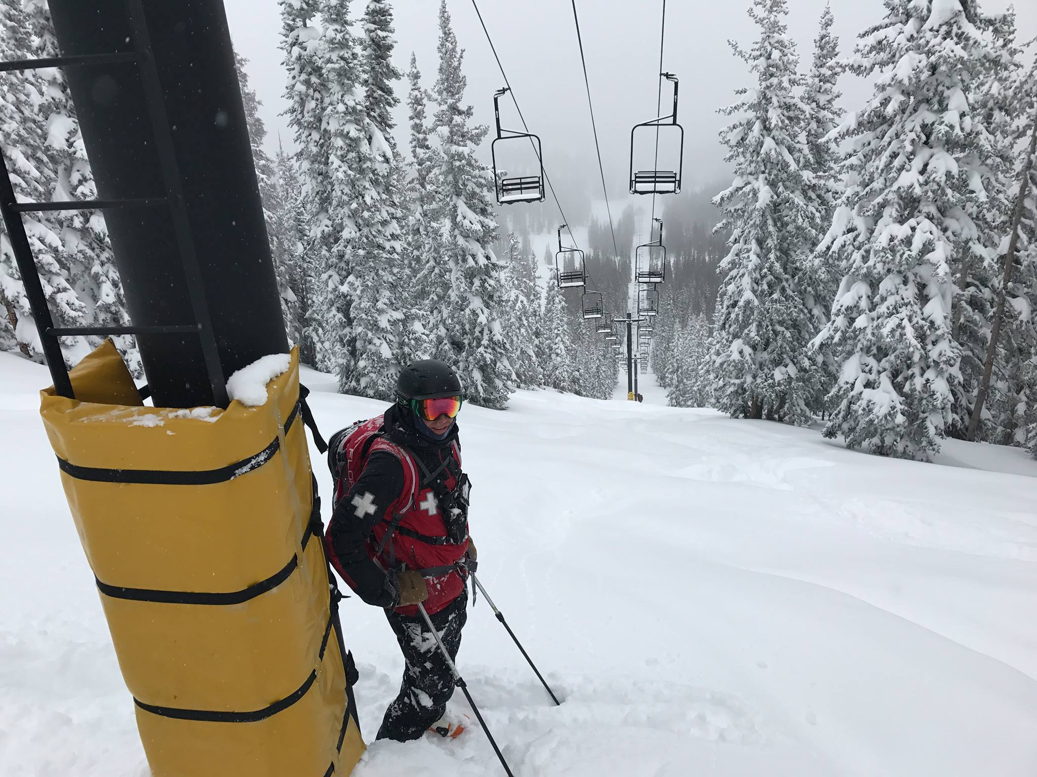 Monarch Mountain reopened today. Powder everywhere. Credit: Monarch Mountain FB page