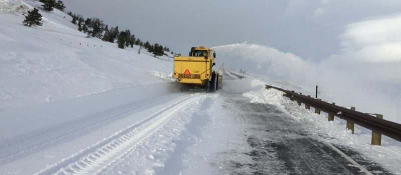 WYDOT working to reopen Wyoming highways. Credit: Wyoming Department of Transportation