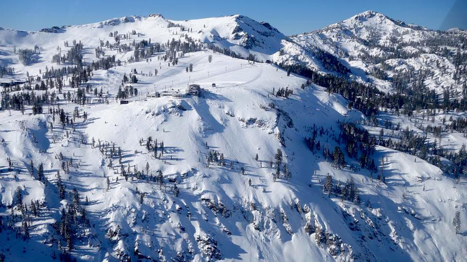 Squaw valley ca plans to open silverado next week - High camp swimming pool squaw valley ...
