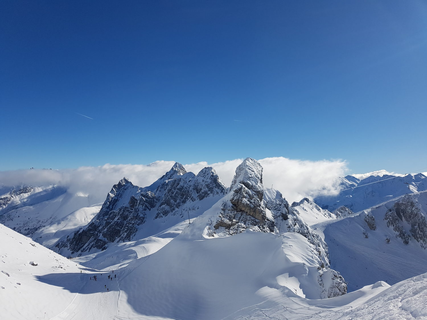 View from Valuga, St.Anton