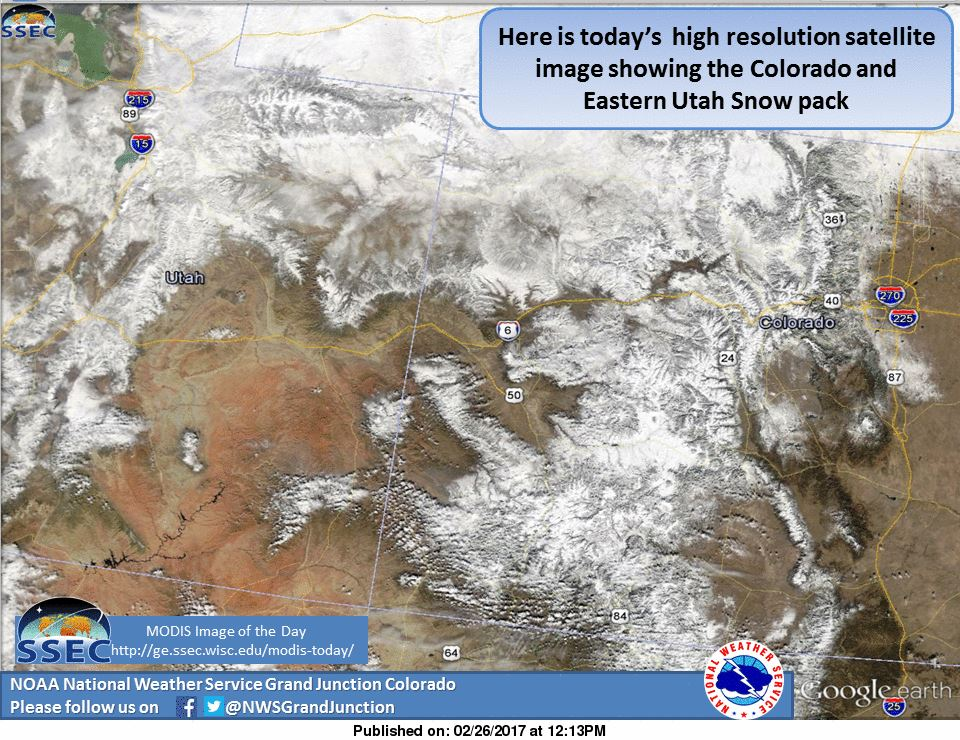 Winter Storm Warnings Issued For Colorado 1218 of Snow Monday
