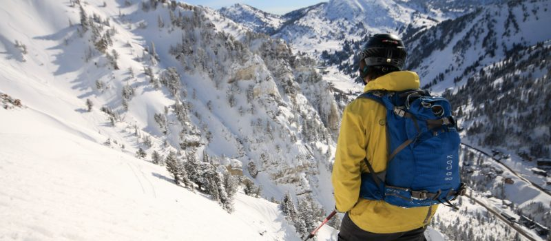 Utah Dept. of Transportation has a revised draft for Avalanche Control Policy in Little Cottonwood Canyon. credit; Utah Adventure Journal