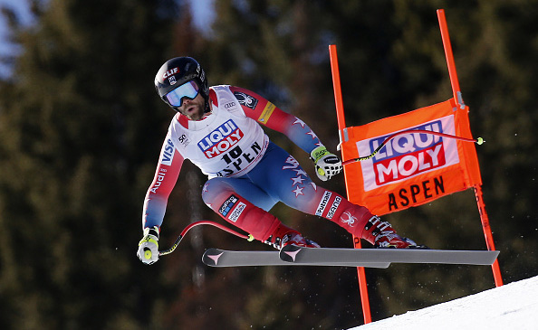 Travis Ganong was 17th Wednesday in Aspen. (Getty Images/Agence Zoom- Alexis Boichard)