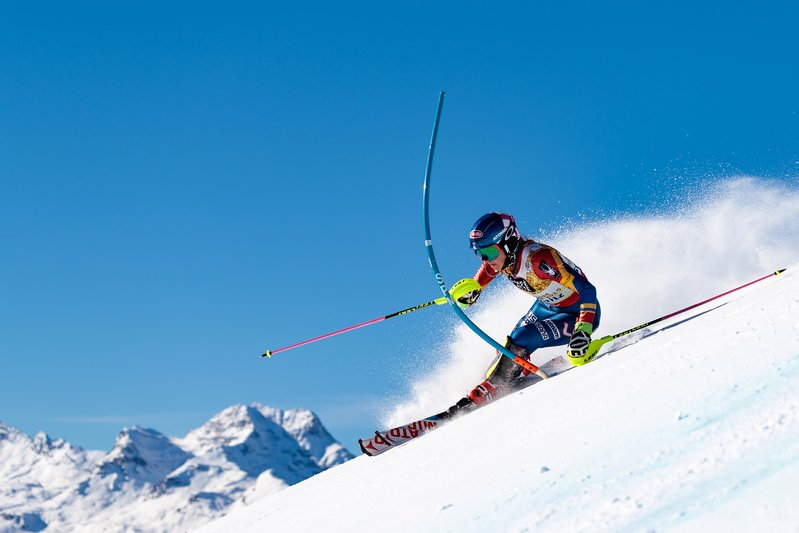 Slalom queen – Shiffrin in her best discipline © Eric Spiess/Red Bull Content Pool