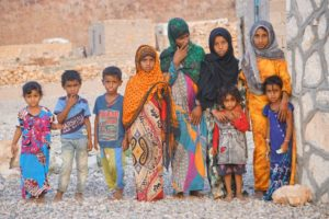 Wonderful children here in the small villages of Socotra.