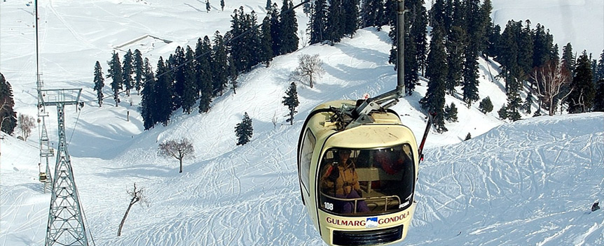 7 Killed When Tree Derails Gondola Cable In Gulmarg India
