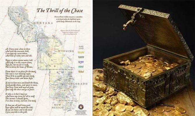 Forrest Fenn, treasure, map