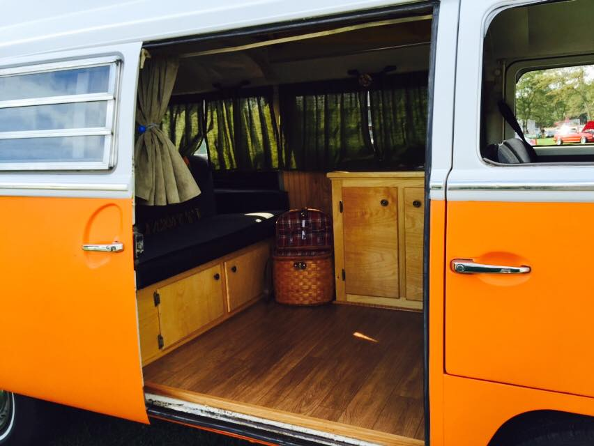 Put the homey touches into your van.