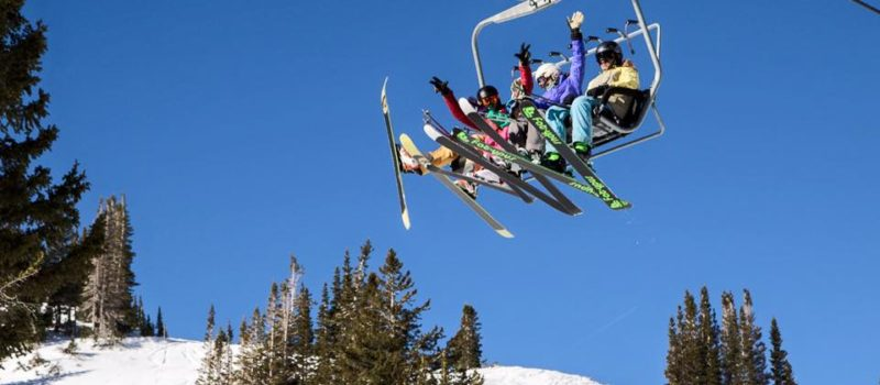 Chairlift pickup lines get people excited.