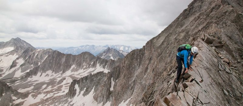 Hiking, Climbing, Peak, Ridge, Summit, Mountain, Rockies