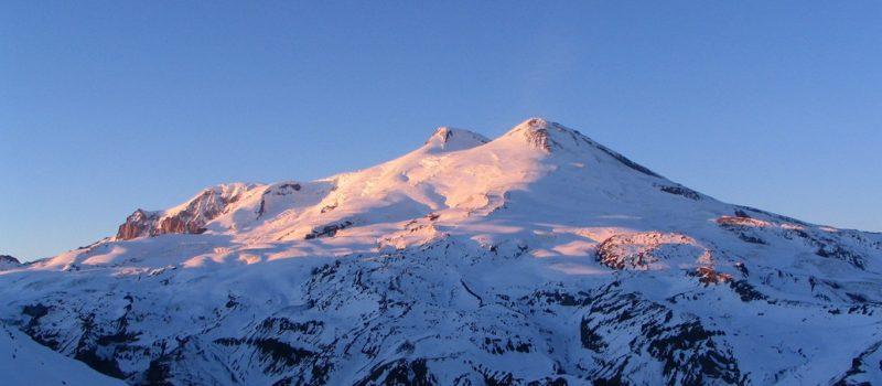 Elbrus, Europe's highest, Russia,