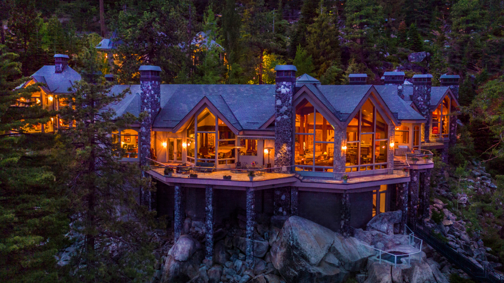 75 Million Mansion On Lake Tahoe Is Area S Most Expensive