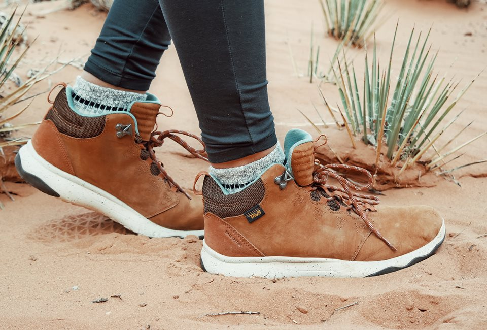 A boot that's perfect for hiking in the mountains and walking in the streets.