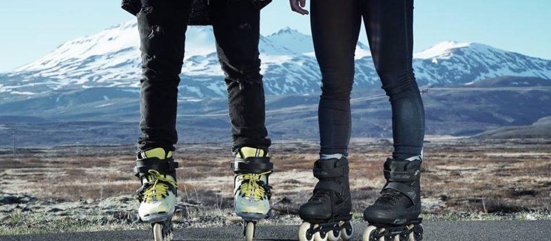 Rollerblading for better skiing