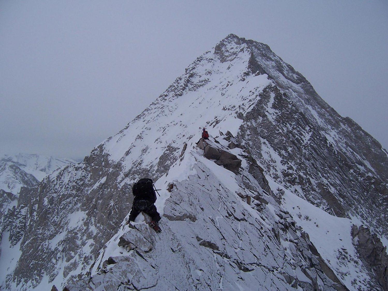 Climber Falls Off