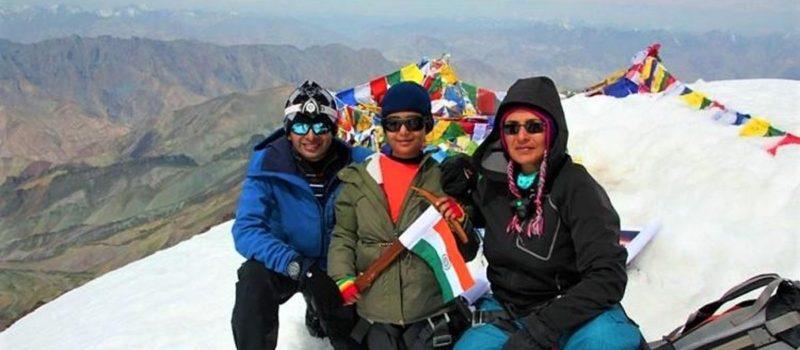 Girl, Summits, StoK Kangri, Himalyaas, Youngest, Stok Kangri