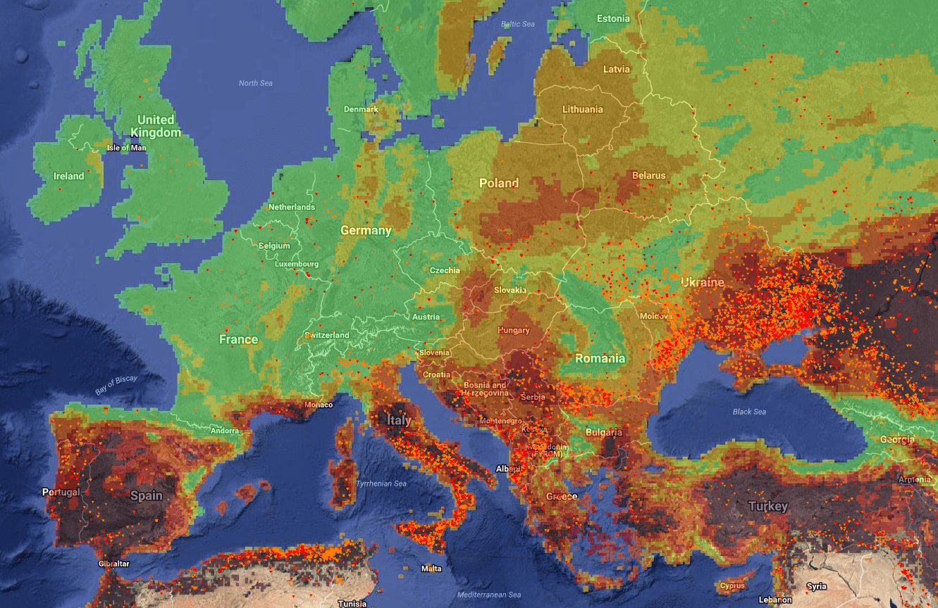 wildfire, fire, wild, ablaze, inferno, europe, italy, ukraine, romania