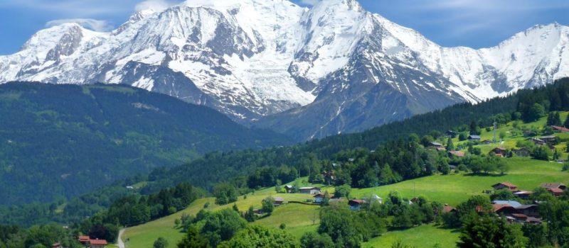 mont blanc, saint gervais, mountain, chamonix, france, europe, climbing