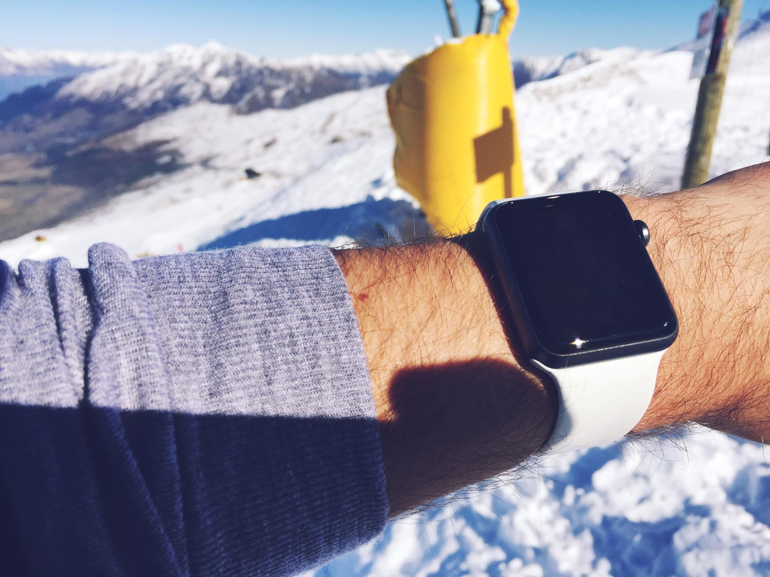 apple, watch, skiing, snowboarding, data, tech, apps