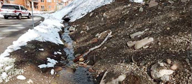 kirkwood, california, tahoe, snow removal, asphalt, fined, contamination, wetland