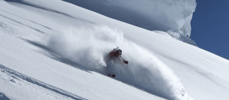 heli-skiing, silverton mountain guides, alaska, powder, early, deep, september, winter
