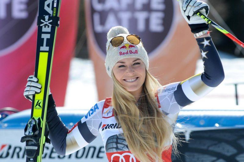 champion skier, linsey vonn, men, race, fis