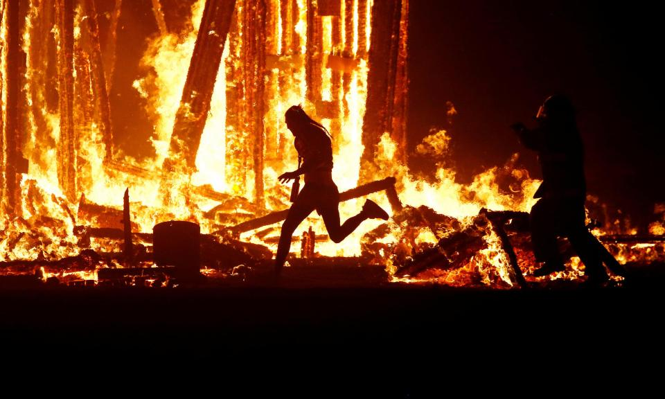 burning man, arrests